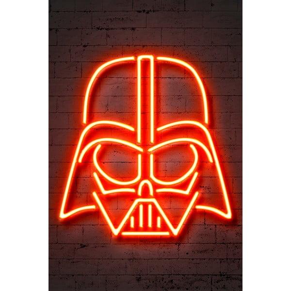 Neon Art Vader poszter, 30 x 40 cm - Blue-Shaker