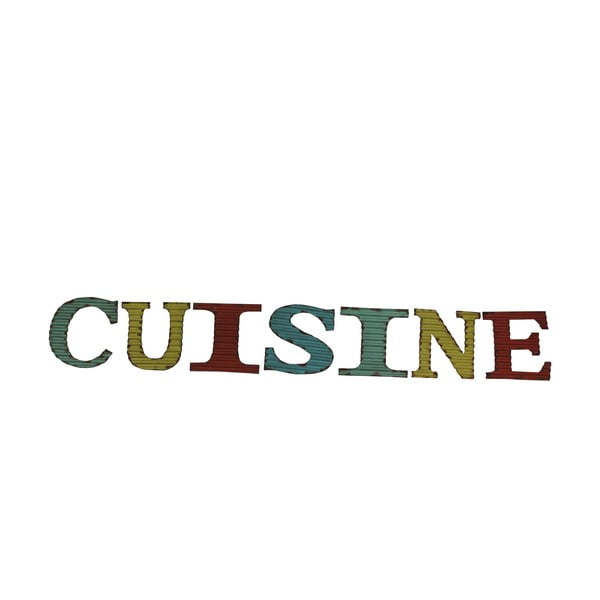 Dekorativní nápis Cuisine