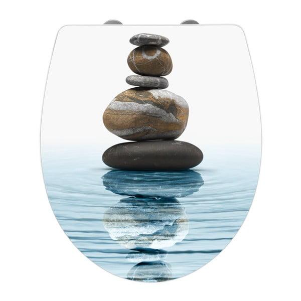 WC sedátko se snadným zavíráním Wenko Meditation, 45 x 38,8 cm