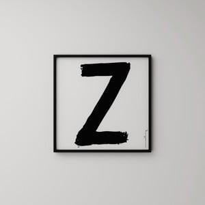 Plakát Litera Z, 50x50 cm