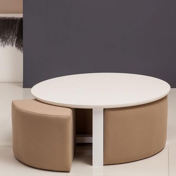 Konferenční stolek Maide White