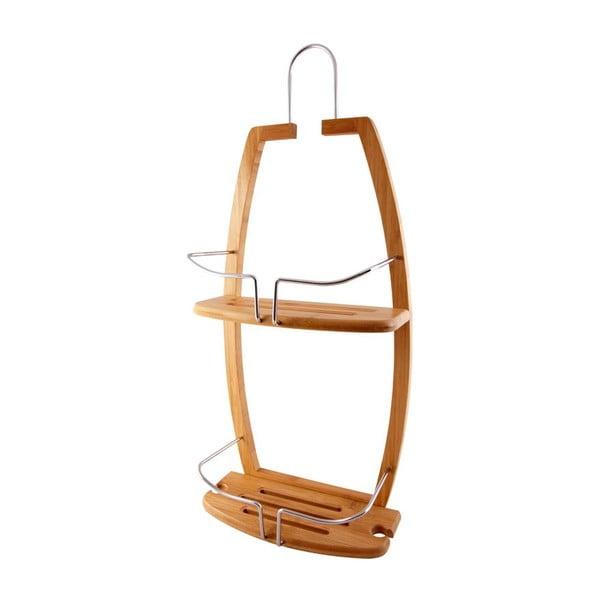Závěsná bambusová polička