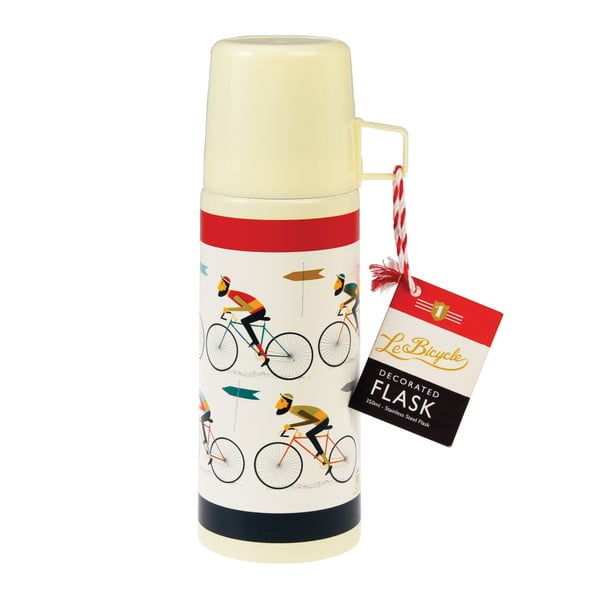Termos cu cană Rex London Le Bicycle, 350 ml