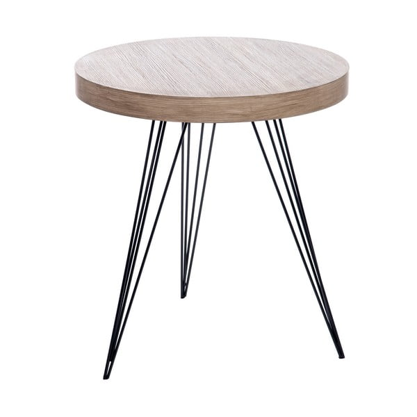 Stolek Retro Table Met, 55 cm