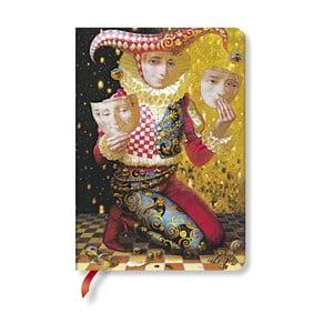 Carnețel cu copertă tare Paperblanks Identity, 12 x 17 cm