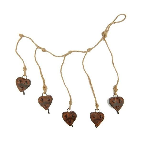 Girlanda Hearts Small Bells
