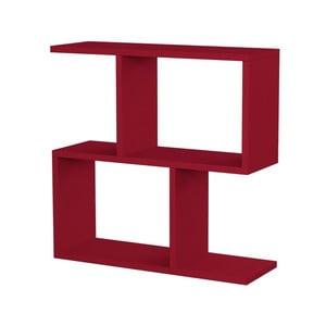 Červený příruční stolek Homitis Beta
