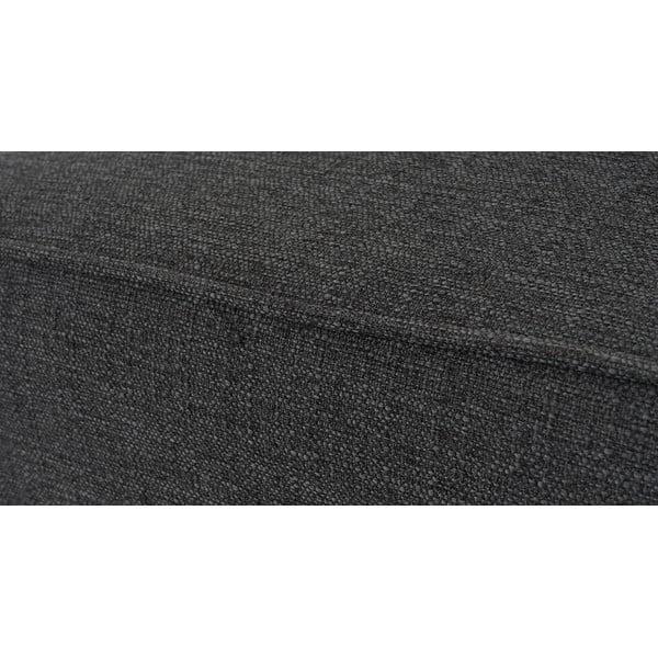 Křeslo Vaasa, antracitový textilní potah