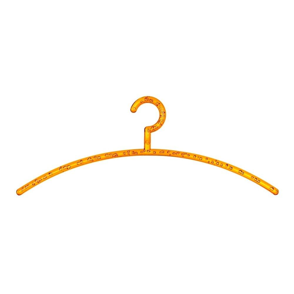 Oranžové ramínko na oblečení Wenko Bubble