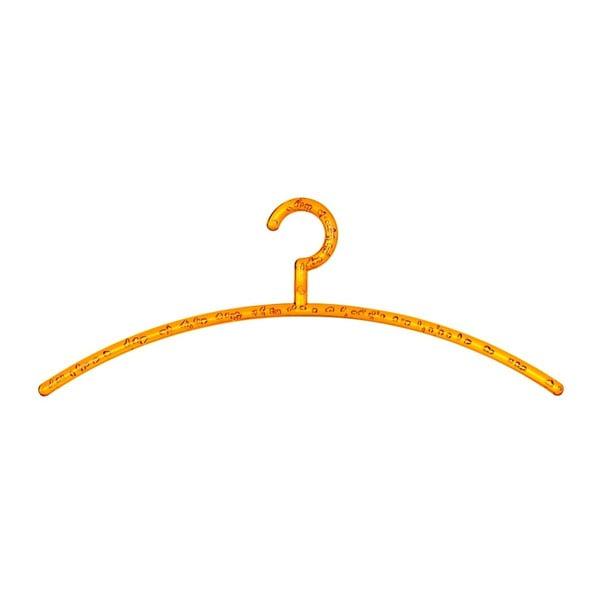 Umeraș pentru haine Wenko Bubble, portocaliu