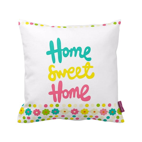 Polštář Home Sweet, 43x43 cm