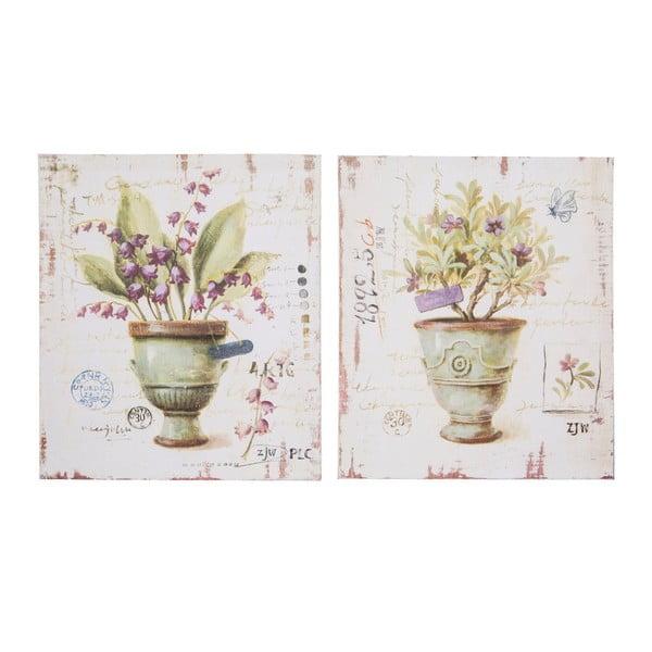 Set 2 plăcuțe decorative Antic Line Provence