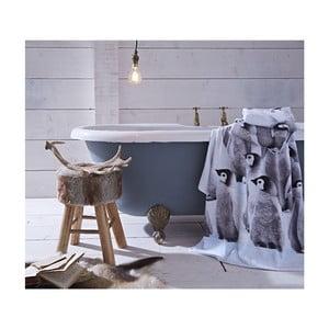 Sada 2 bavlněných ručníků Catherine Lansfield Penguin, 120x70cm