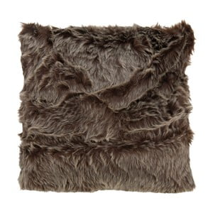 Pernă Mistral Home Imitation Fur Brown, 48 x 48 cm