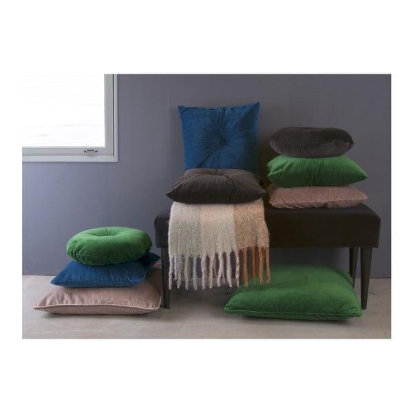 Šedý bavlněný polštář PT LIVING, 45 x 45 cm