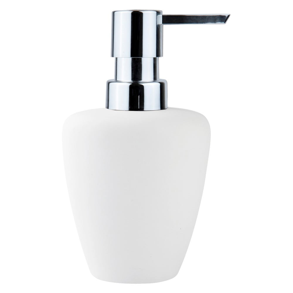 Bílý dávkovač mýdla Zone Soft