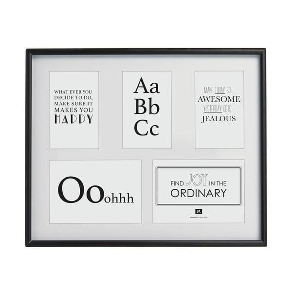 Flawless fekete képkeret, 20 x 25 cm - PT LIVING