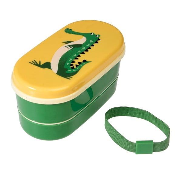Obědový box Rex London Ben The Crocodile