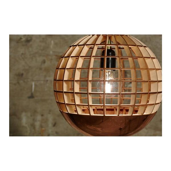Lustră Massow Design Globe Copper
