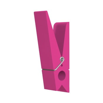 Cuier în formă de cârlig de rufe Swab, roz de la Swab