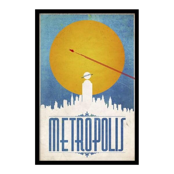Plakát Metropolis, 35x30 cm