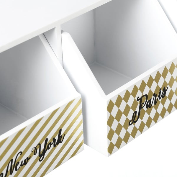 Úložný box se 3 zásuvkami Unimasa Cities