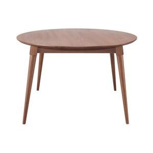 Jídelní stůl z ořechového dřeva Wewood - Portuguese Joinery Maria, Ø130cm