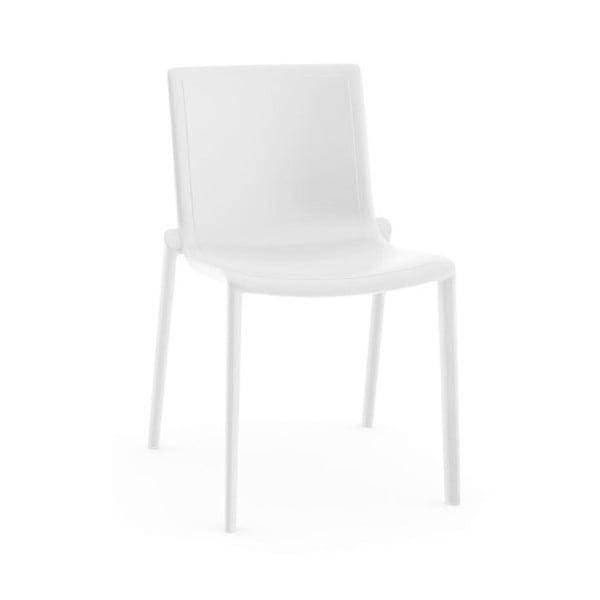 Sada 2 bílých zahradních židlí Resol Kat