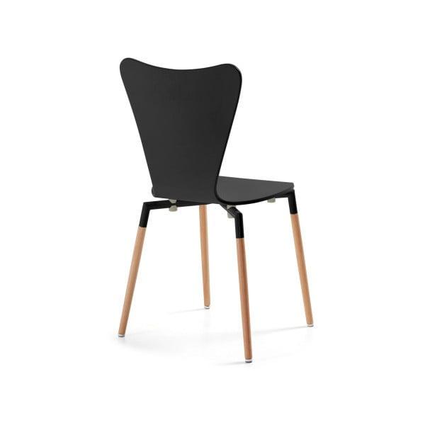Černá židle La Forma Eclectic