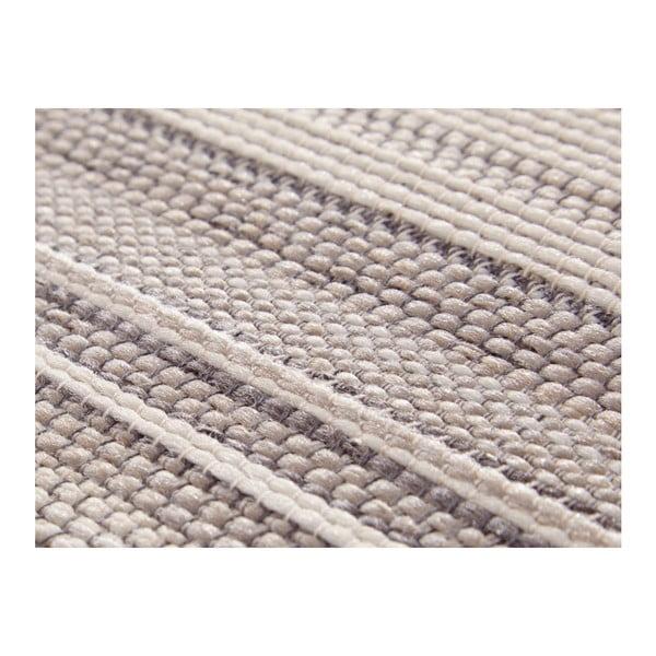 Krémovobéžový koberec vhodný i na ven Elle Decor Secret Calais, 80 x 150 cm