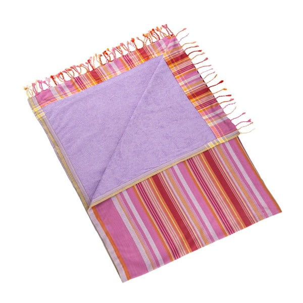 Ručník Purlen Pink, 100x178 cm