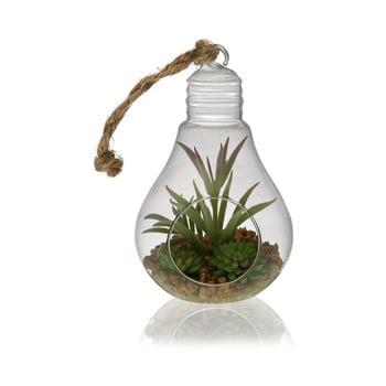 Floare artificială în vas de sticlă Versa Poit de la Versa