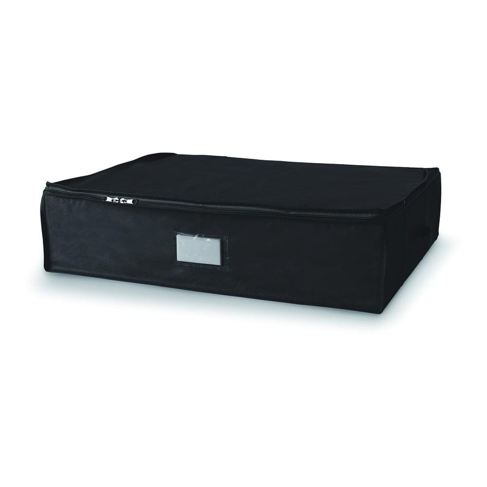 Černý úložný box se zapínáním na zip Compactor Compress Pack, 145 l