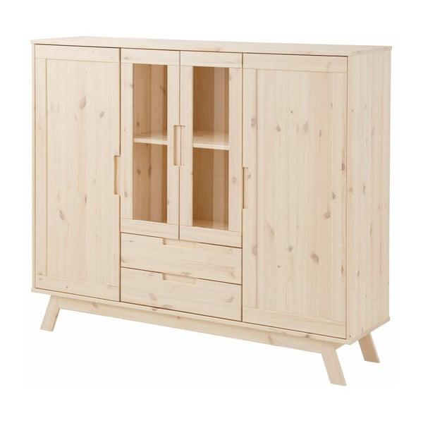 Lakovaná dřevěná skříňka Støraa Olive