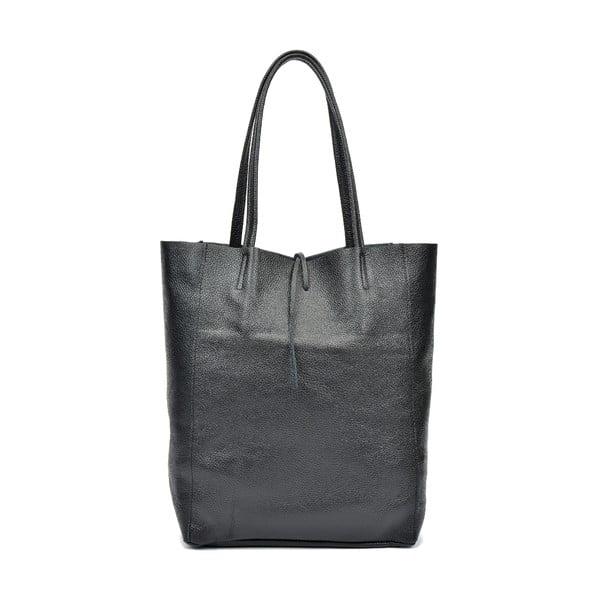 Černá kožená kabelka Sofia Cardoni Ornella