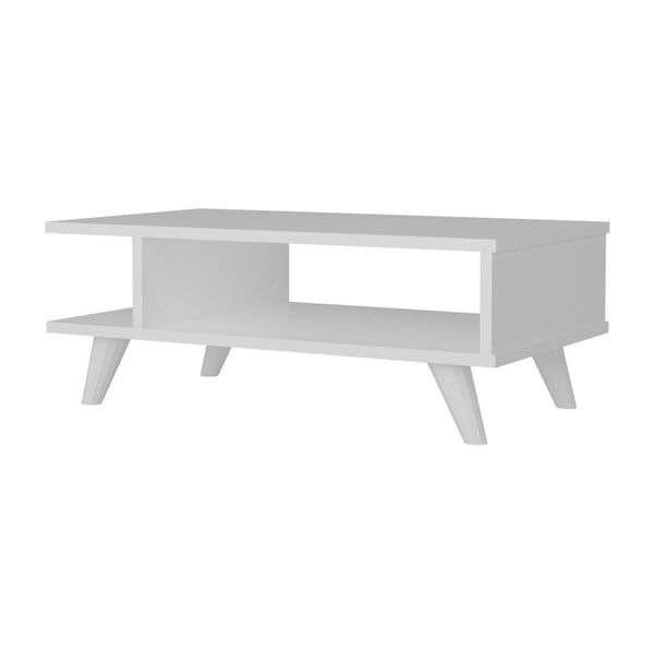 Bílý konferenční stolek Titus