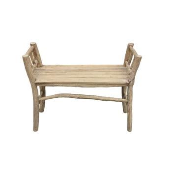 Bancă din lemn de tec HSM collection Bench Pank de la HSM collection