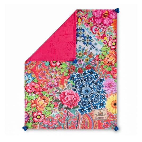 Cuvertură pentru pat cu aspect catifelat HAPPINESS Zaira, 150x200cm