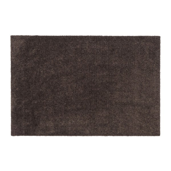 Tmavě hnědá rohožka tica copenhagen Unicolor, 60x90cm
