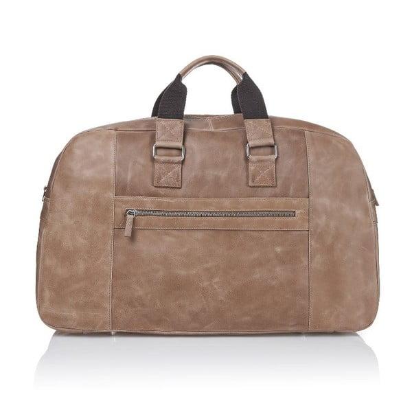 Pánská kožená taška Ferruccio Laconi 101 Havana