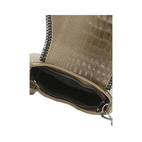 Kožená kabelka Giorgio Costa 15008 Fango