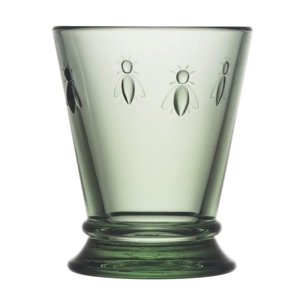 Zelená sklenice La Rochére Abeille, 185ml