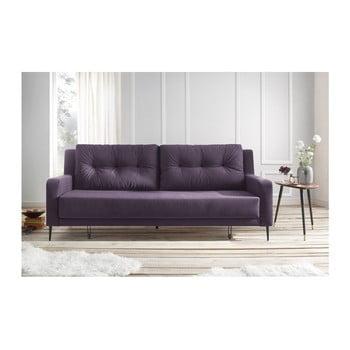 Canapea extensibilă Bobochic Bergen mov