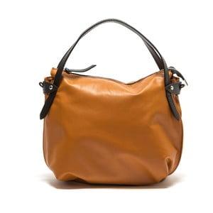 Koňakově hnědá kožená kabelka Isabella Rhea no. 2147