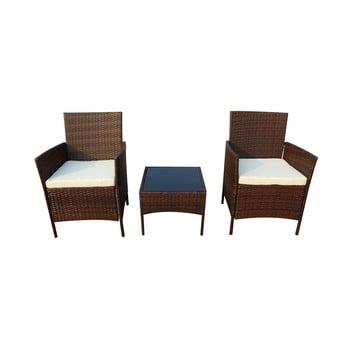 Set mobilier de grădină din ratan artificial Timpana Melony imagine