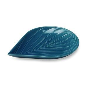 Platou din ceramică Kähler Design Cono, albastru închis