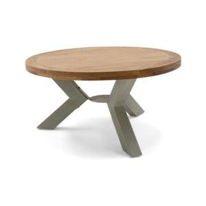 Kulatý stůl z masivního dřeva VIDA Living Monroe, ø 160 cm