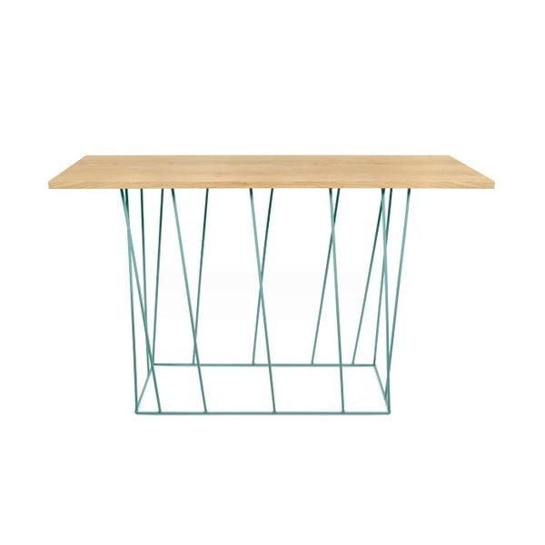 Konzolový stolek se zelenými nohami TemaHome Helix