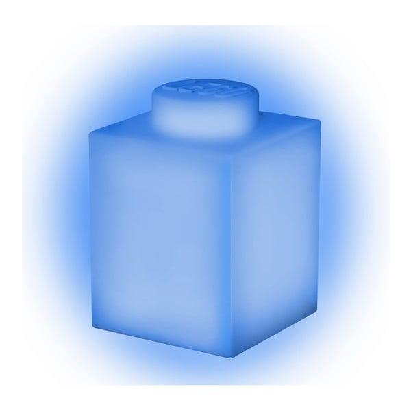 Classic Brick kék szilikon világító éjjeli lámpa - LEGO®