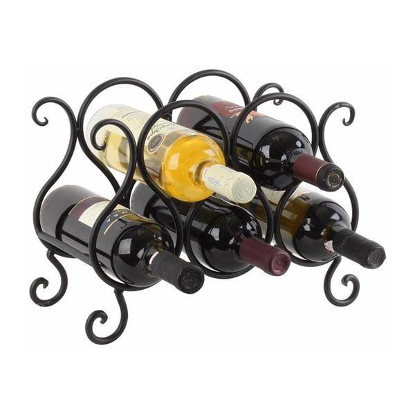 Stojan na lahve vína Rustic Metal